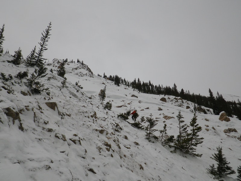 <b>Figure 12:</b> Looking to the southwest across the bed surface in the eastern portion of the Star Mountain A avalanche path. (<a href=javascript:void(0); onClick=win=window.open('https://caic-production.imgix.net/er3j1tplist3e9xtzefrwsm8pvng?ixlib=php-3.1.0&s=f8e7c69bf04c59a3e7695fb79d9143b0','caic_media','resizable=1,height=820,width=840,scrollbars=yes');win.focus();return false;>see full sized image</a>)