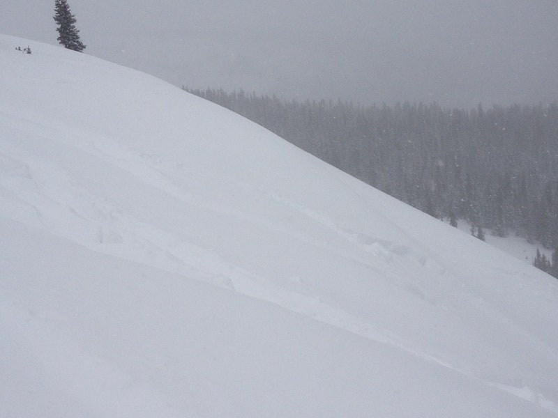<b>Figure 1:</b> small skier trigger slide ion east slope at old Berthoud ski area (<a href=javascript:void(0); onClick=win=window.open('https://caic-production.imgix.net/i2i633t6fnr3qyandjroosygt7cw?ixlib=php-3.1.0&s=f12087355f3ed02bd18badbdf3ce1dde','caic_media','resizable=1,height=820,width=840,scrollbars=yes');win.focus();return false;>see full sized image</a>)