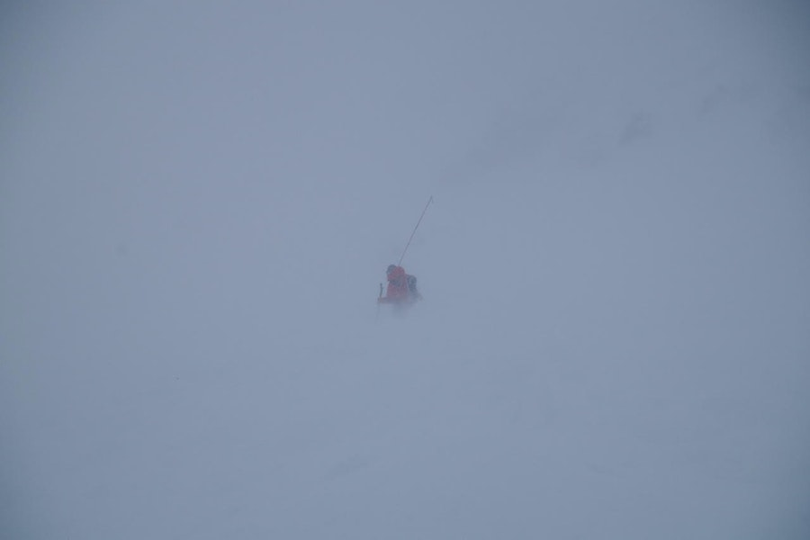 <b>Figure 10:</b> Rescue team member probing on Saturday January 17, 2016, the day after the avalanche occurred. Photo courtesy Dale Atkins (<a href=javascript:void(0); onClick=win=window.open('https://caic-production.imgix.net/i6bmjdd0168qd9hbofj3xl9cch00?ixlib=php-3.1.0&s=77f46cb4e7c4e176ee0ccc5fd135307d','caic_media','resizable=1,height=820,width=840,scrollbars=yes');win.focus();return false;>see full sized image</a>)