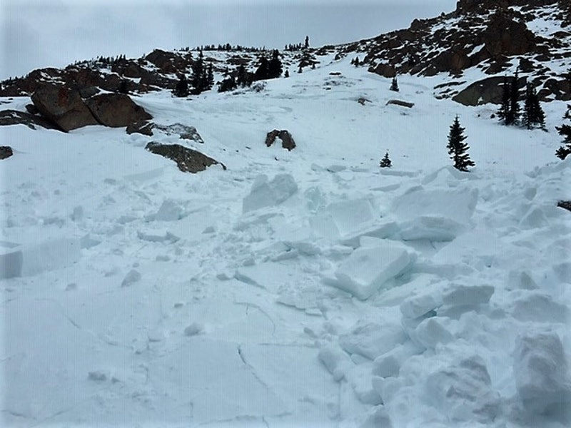 <b>Figure 2:</b> Wind Slab avalanche triggered on a northwest aspect below Taylor Pass. Dec 21, 2018 (<a href=javascript:void(0); onClick=win=window.open('https://caic-production.imgix.net/mtqscpy223hg9k12lgi1tfjiwr7a?ixlib=php-3.1.0&s=55928f66e7c9464d7e51267640edd1b5','caic_media','resizable=1,height=820,width=840,scrollbars=yes');win.focus();return false;>see full sized image</a>)