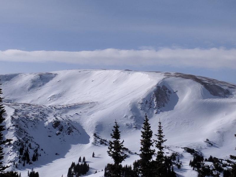 <b>Figure 3:</b> Backcountry riders likely triggered this avalanche from below. A soft-slab avalanche in recently drifted storm snow, SS-ASr-R2D1.5, 1/1/18 Berthoud Pass. (<a href=javascript:void(0); onClick=win=window.open('https://caic-production.imgix.net/p46gyiee1qkonzejv6ij5id6ex7y?ixlib=php-3.1.0&s=a6b7e7a0057d9d46eff148915afdcad8','caic_media','resizable=1,height=820,width=840,scrollbars=yes');win.focus();return false;>see full sized image</a>)
