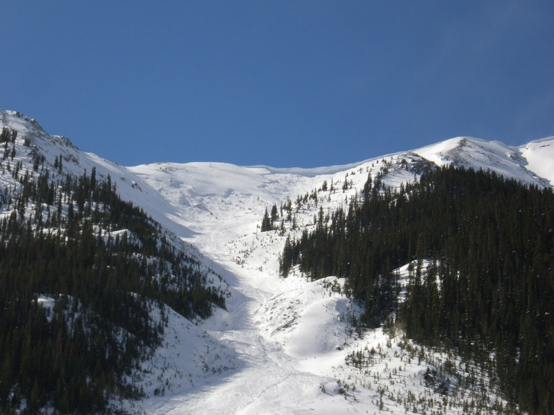<b>Figure 24:</b> Looking up hill at the avalanche in Star Mountain B on February 17, 2014. This avalanche released naturally on February 13th or 14th. (<a href=javascript:void(0); onClick=win=window.open('https://caic-production.imgix.net/uwsfewqnf5phve0w8yskx3iy6eux?ixlib=php-3.1.0&s=af79600e0ec045156b2c5efd5561b9ff','caic_media','resizable=1,height=820,width=840,scrollbars=yes');win.focus();return false;>see full sized image</a>)