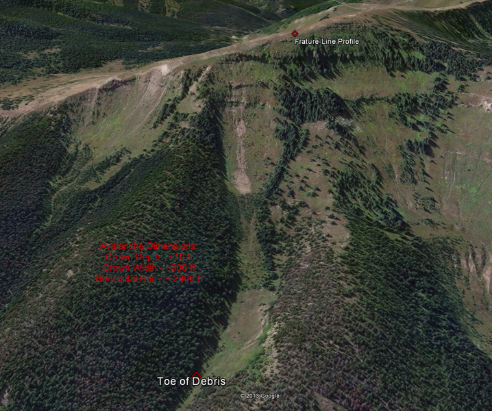 <b>Figure 15:</b> A Google Earth image of the avalanche path. (<a href=javascript:void(0); onClick=win=window.open('https://caic-production.imgix.net/zd8uqik2g1tv96waqr1k8sshjy13?ixlib=php-3.1.0&s=f9a82dfb135147600de3c1d6f6168e0c','caic_media','resizable=1,height=820,width=840,scrollbars=yes');win.focus();return false;>see full sized image</a>)